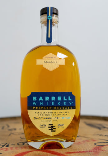Barrell Craft Spirits Private Release Whiskey - Seelbach's