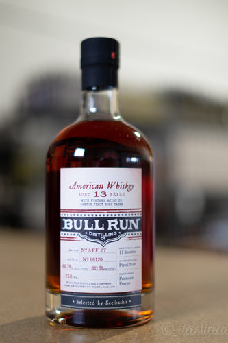 Bull Run Pinot Noir Finished American Whiskey - Seelbach's Select Pt. 2