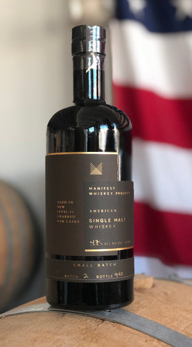 Manifest Whiskey Project No. 2