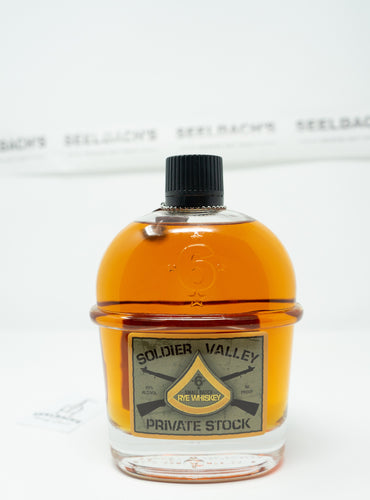Soldier Valley Spirits - Private Stock Rye Whiskey