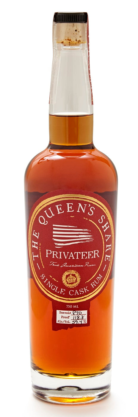 Privateer Rum The Queen's Share BIB
