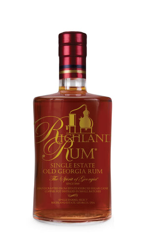 Richland Single Estate Old South Georgia Rum