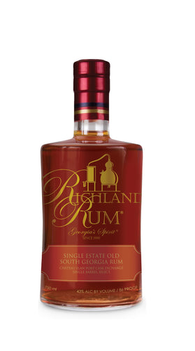 Richland Single Estate Old South Georgia Rum - Chateau Elan Port Cask Exchange