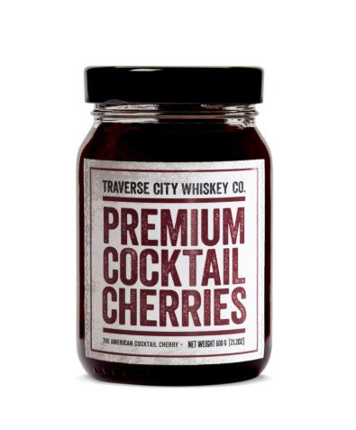 Traverse City Whiskey Co. Premium Cocktail Cherries (21.2 OZ)