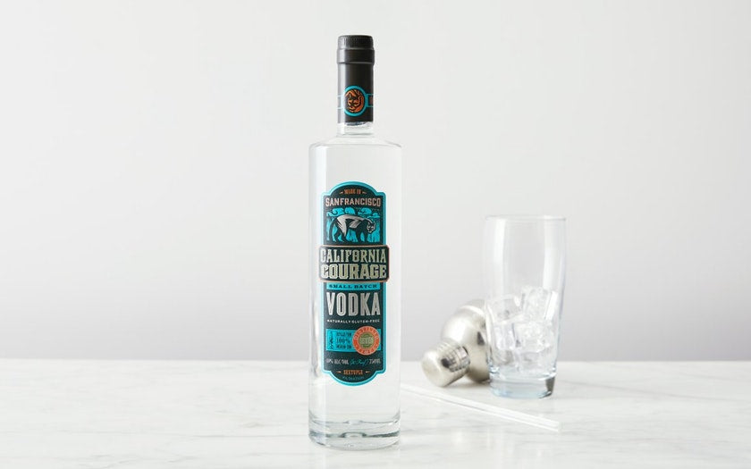 California Courage Small Batch Vodka
