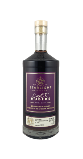 Starlight Distillery Carl T. Sherry Finished Bourbon