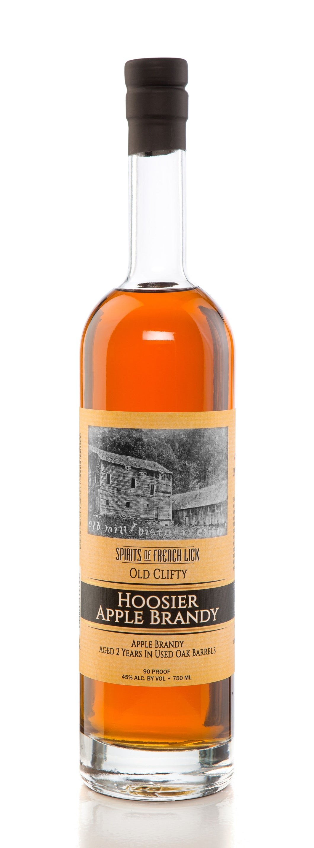 Spirits Of French Lick Old Clifty Hoosier Apple Brandy
