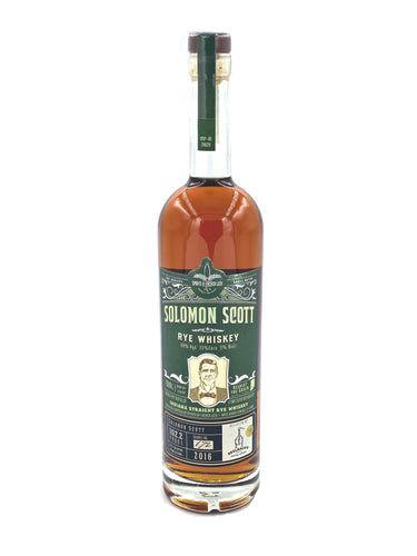 Spirits Of French Lick Solomon Scott Rye - Selected by Seelbach's