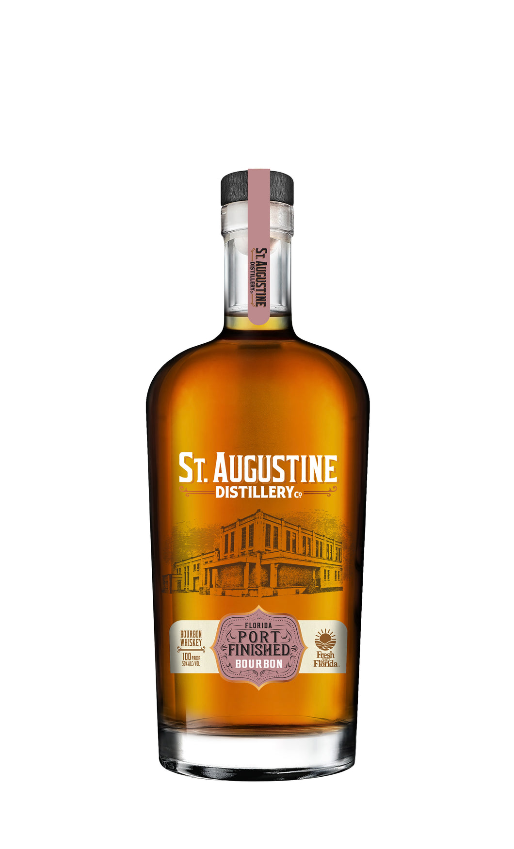 St Augustine Distillery Port Finished Bourbon - 375ml