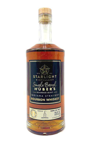 Starlight Distillery Single Barrel Bourbon - Selected by Seelbach's #16470
