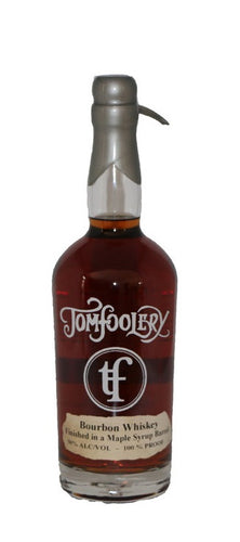 Tom's Foolery Distillery Bourbon Finished In Maple Syrup Barrel