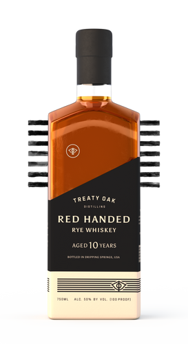 Treaty Oak Distilling Red Handed Rye - Hacked Gin Finished