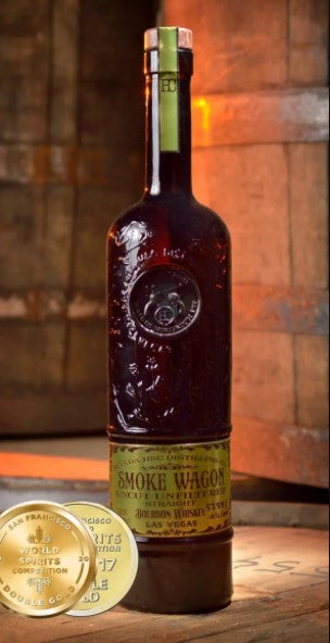 Smoke Wagon Uncut Unfiltered Bourbon