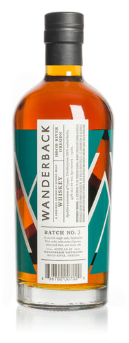 Wanderback Whiskey Co. Batch No. 3