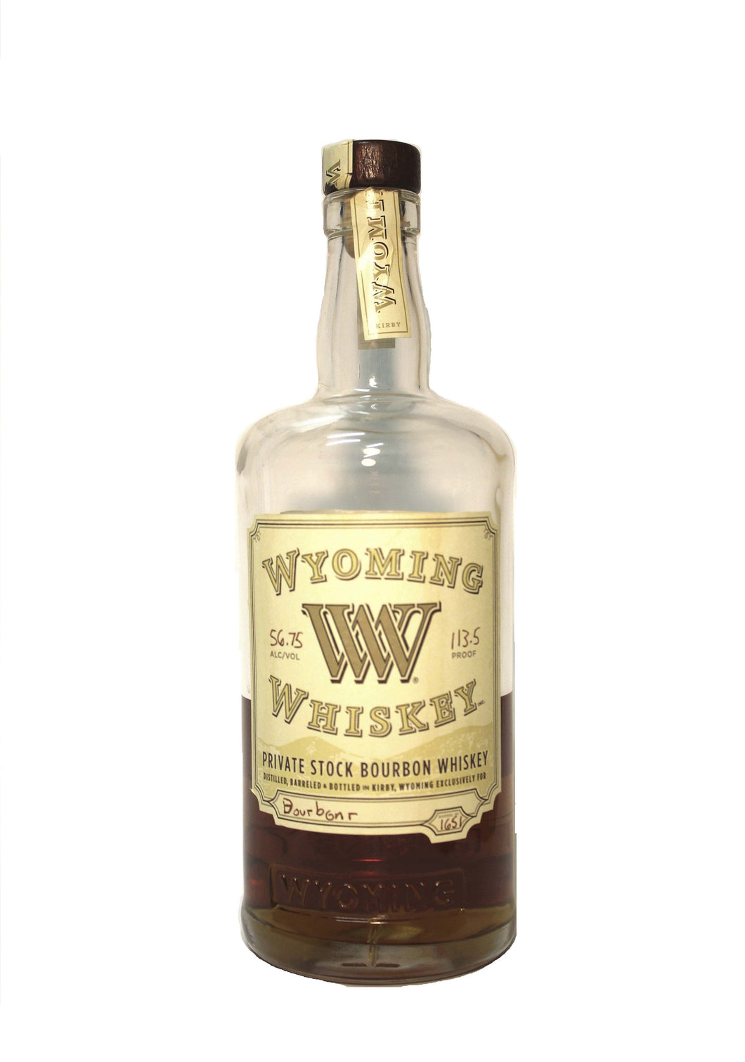 Wyoming Whiskey Barrel #1651