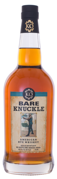 KO Distilling Bare Knuckle American Rye Whiskey