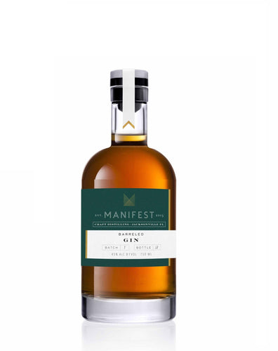 Manifest Distilling Barreled Gin - 375