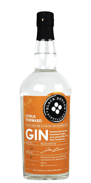 Black Button Distilling Citrus Forward Gin