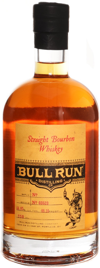 Bull Run Distillery Straight Bourbon