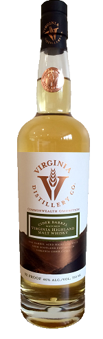 Virginia Distillery Co. - Highland Malt Whisky Cider-Finished