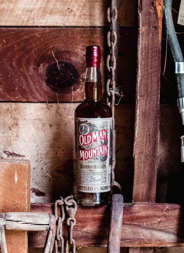The Old Man of the Mountain Bottled in Bond Bourbon