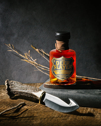 The Deerslayer Venison Whiskey