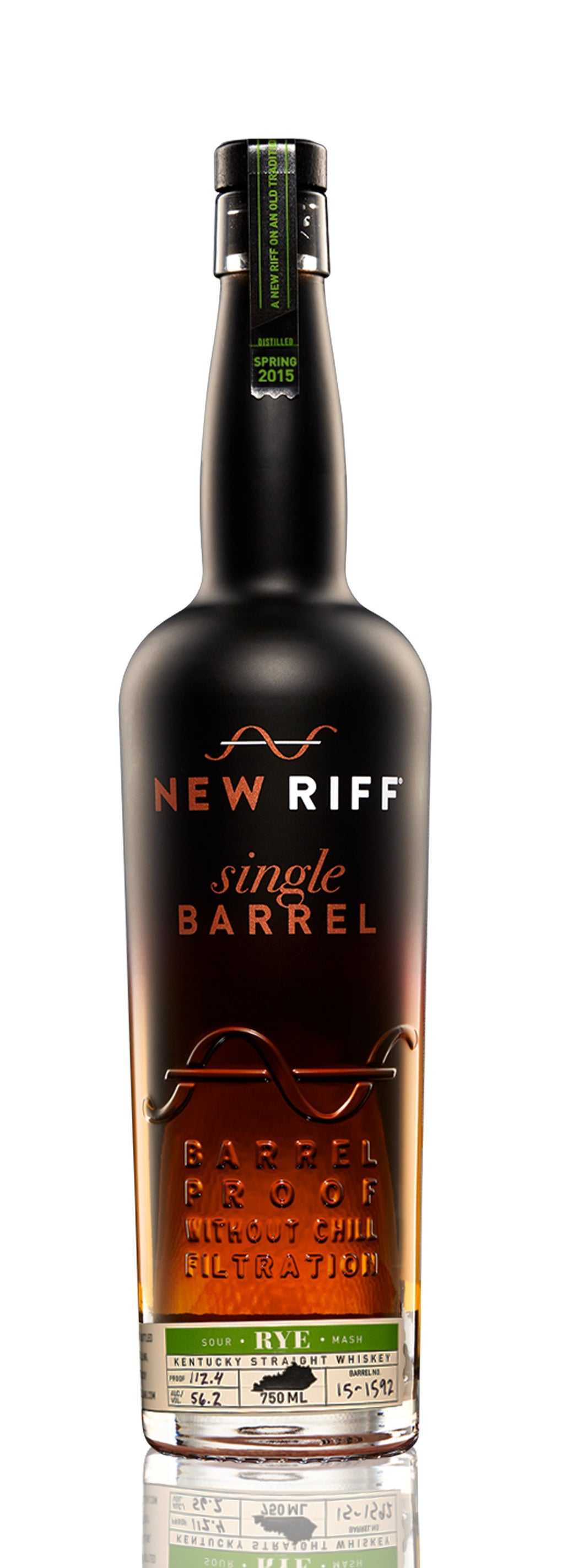 New Riff Distilling Kentucky Single Barrel Rye Whiskey