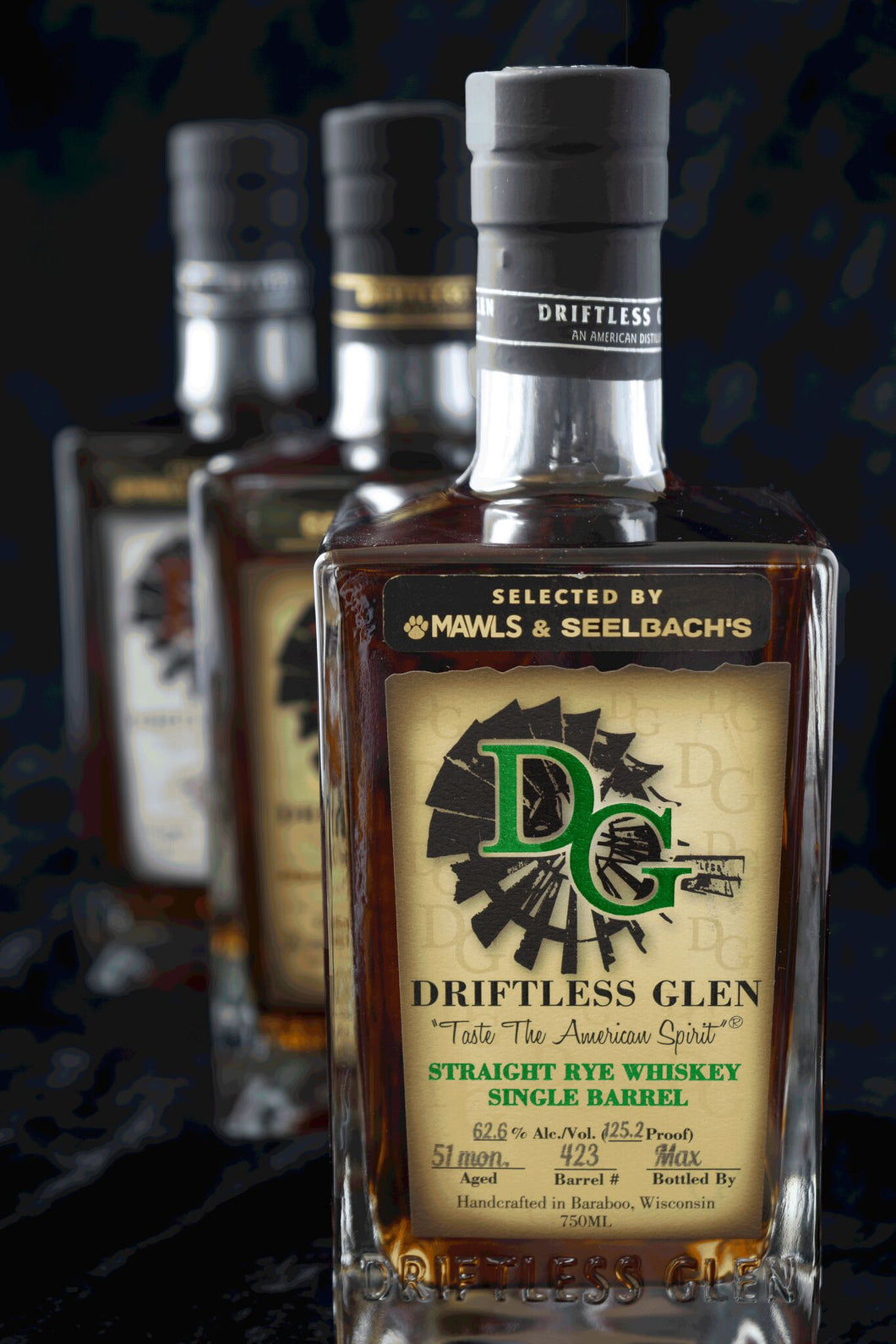 Driftless Glen Distillery Single Barrel Rye - Seelbach's #1555