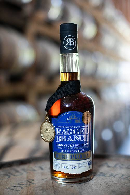 Ragged Branch-Double Oaked Bottled-in-Bond-Virginia Straight Whiskey