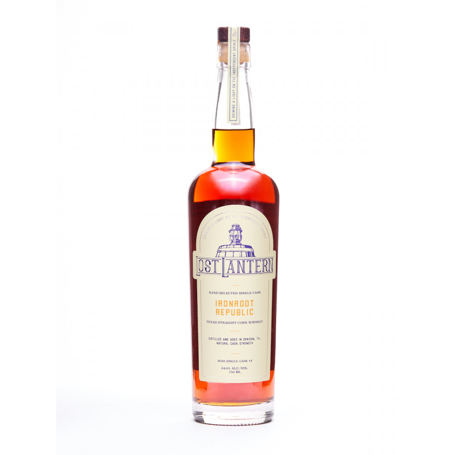 Lost Lantern Ironroot Republic Single Cask Straight Corn Whiskey