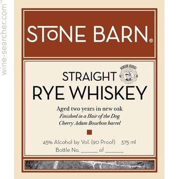 Stone Barn Brandyworks Rye Whiskey