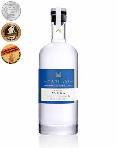 Manifest Distilling Vodka
