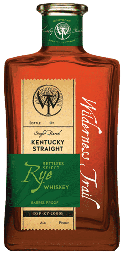 Wilderness Trail Rye Whiskey - T5C/1789b RY1-34