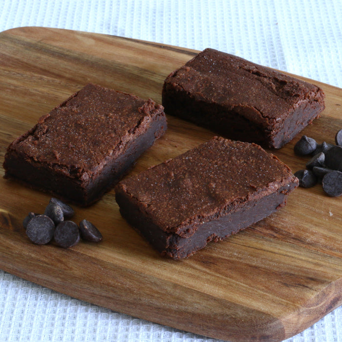 Dark Chocolate & Whole Milk Brownies