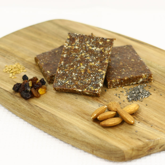 Vegan Fruit, Nut and Seed Slices