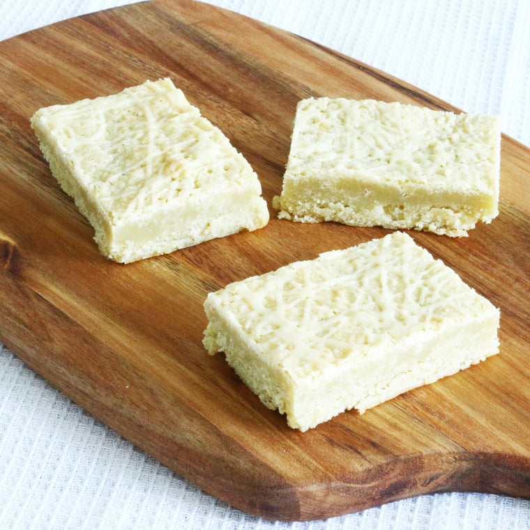 Belgian White Chocolate Blondies