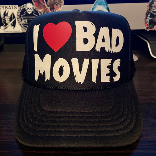 I Heart Bad Movies Hat
