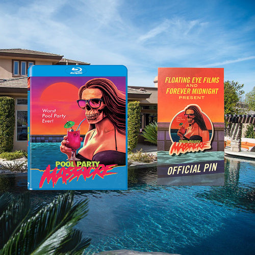 Pool Party Massacre Blu-ray/Official Pin Bundle