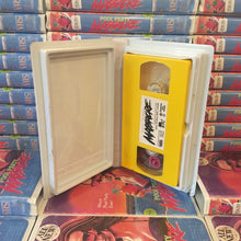 "Pool Party Massacre ""Pee In The Pool Yellow"" VHS and Pin Combo"