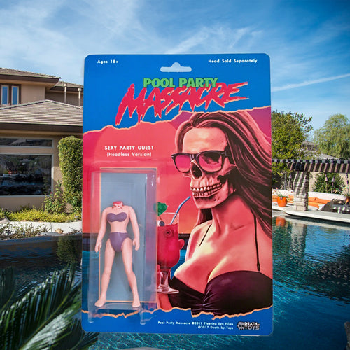 Pool Party Massacre Limited Edition Action Figure (2nd Edition w/ blue bikini)