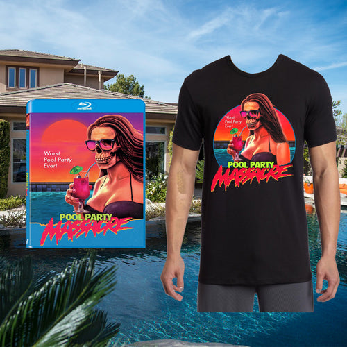 Pool Party Massacre Blu-ray/T-shirt Bundle