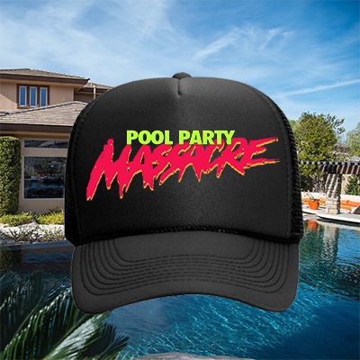 Pool Party Massacre Logo Hat