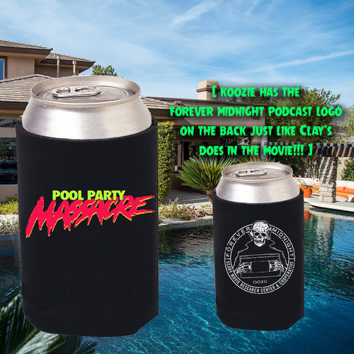 Pool Party Massacre Koozie
