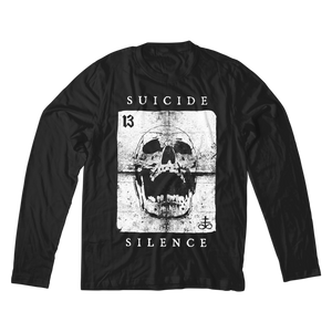 Official Suicide Silence Store 'Wild Card' Longsleeve, Official Merch, Official Store, Official Shop, Hoodies, Official Merchandise, T-shirts, Hoodies, Jackets, Shirts, Mitch Lucker, killermerch.com, Killer Merch