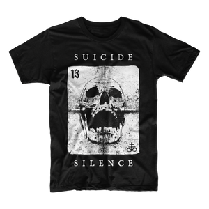 Official Suicide Silence Store 'Wild Card' Tee, Official Merch, Official Store, Official Shop, Hoodies, Official Merchandise, T-shirts, Hoodies, Jackets, Shirts, Mitch Lucker, killermerch.com, Killer Merch