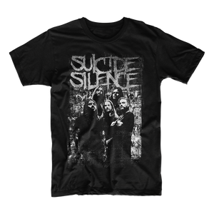 Official Suicide Silence Store 'Crew' Tee, Official Merch, Official Store, Official Shop, Hoodies, Official Merchandise, T-shirts, Hoodies, Jackets, Shirts, Mitch Lucker, killermerch.com, Killer Merch