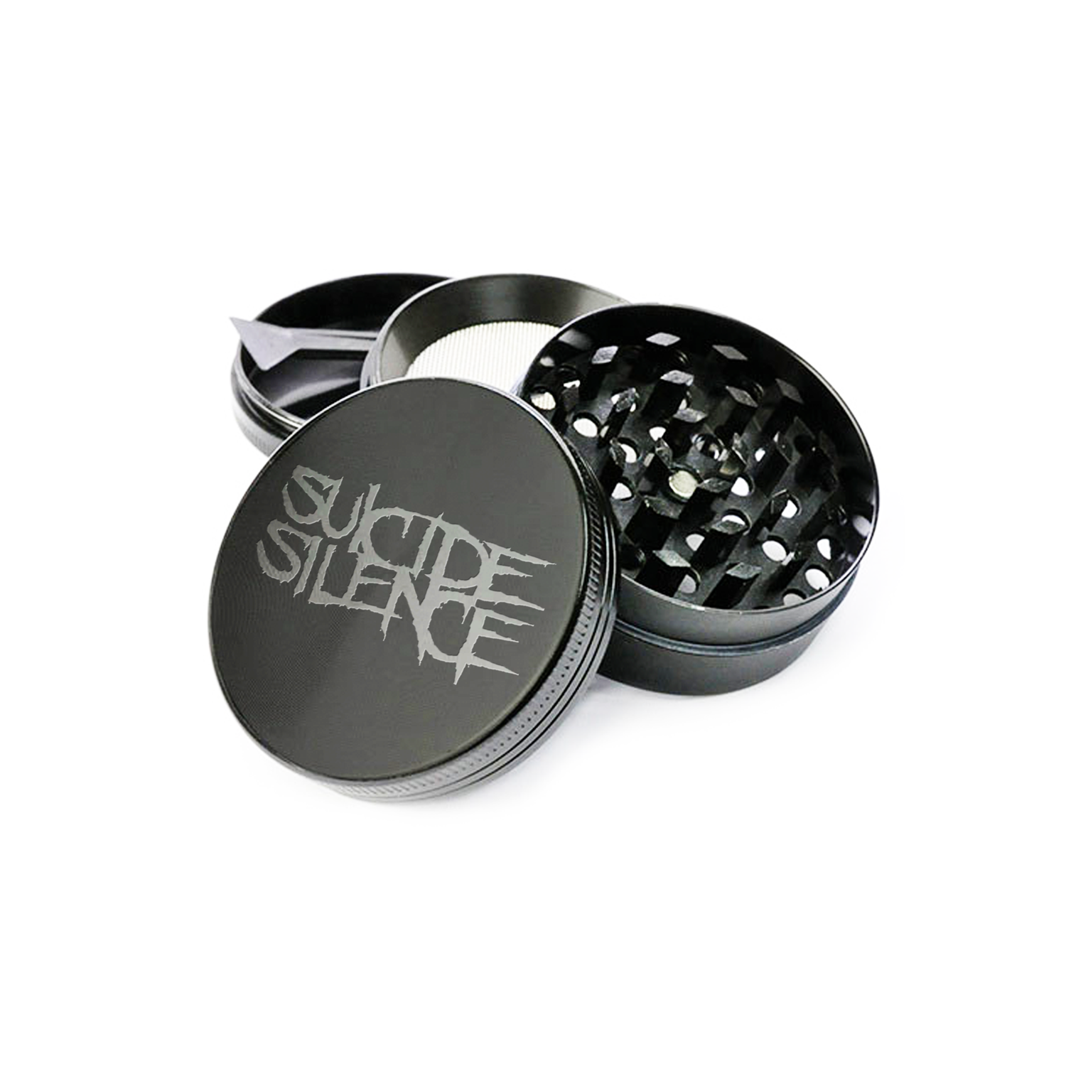 Official Suicide Silence Store Logo Grinder, Official Merch, Official Store, Official Shop, Hoodies, Official Merchandise, T-shirts, Hoodies, Jackets, Shirts, Mitch Lucker, killermerch.com, Killer Merch