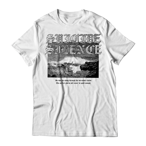 Official Suicide Silence Store Perfect Storm Tee, Official Merch, Official Store, Official Shop, Hoodies, Official Merchandise, T-shirts, Hoodies, Jackets, Shirts, Mitch Lucker, killermerch.com, Killer Merch