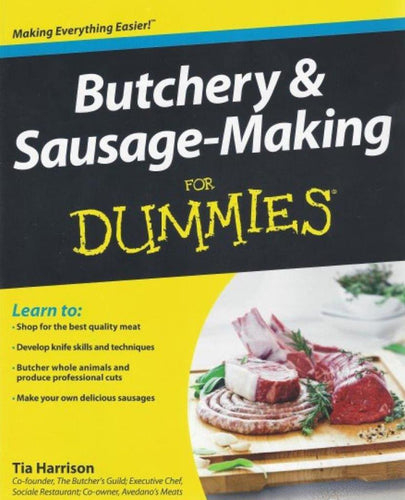 Sausage books the casing boutique new zealand butchery and sausage making for dummies forumfinder Image collections