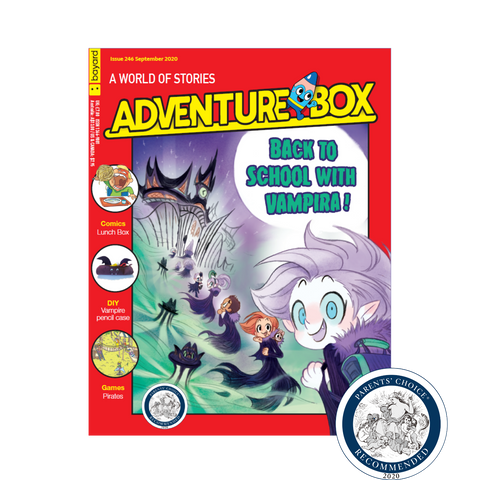 AdventureBox Award Winning Kids Magazine for kids that love to read